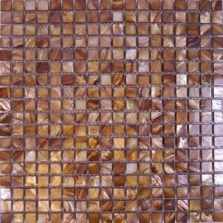 Dunkelgr/ün Armena Mosaikstein mit Goldf/äden-Glasmosaik mit Kupfer Textur 2x2cm 130g Circa 43 St/ück