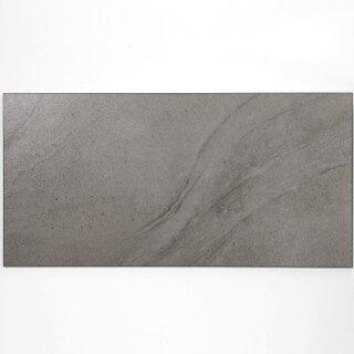 Bodenfliesen Feinsteinzeug R9 Grau Glasiert 30x60cm 1karton 1 44qm