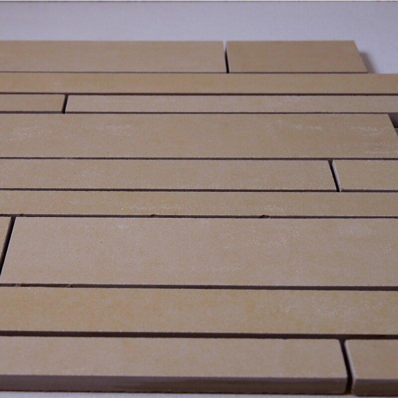 Feinsteinzeug st bchenmosaik beige 30x30x1 1cm r10 1 for Pci fliesenkleber frostsicher