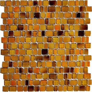 Glasmosaik gelb orange mix 1,1/1,5/2,1/2,5x1,8x0,8cm,...