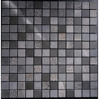 Gut gemocht Mosaikfliesen Naturstein Notte anthrazit 2,3x2,3 cm, 11,95 € KX69
